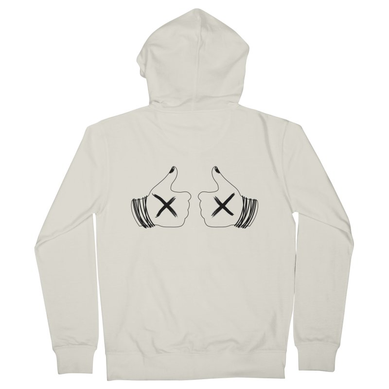 Scene Hands Women's French Terry Zip-Up Hoody by It's Me Stevie Leigh