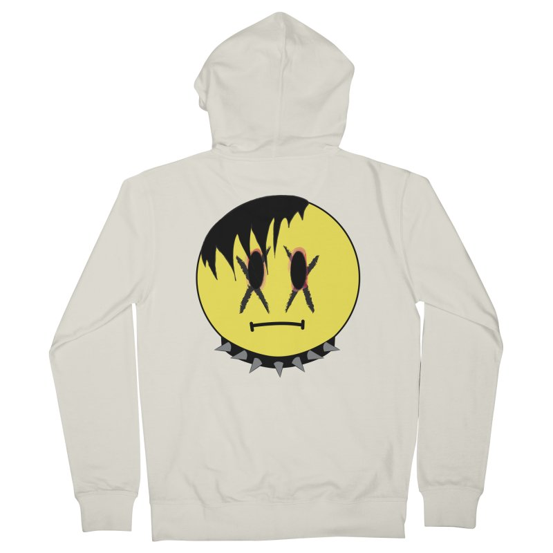 Goth Kid Men's French Terry Zip-Up Hoody by It's Me Stevie Leigh