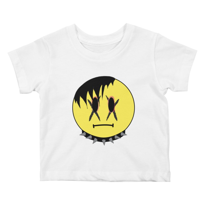 Goth Kid Kids Baby T-Shirt by It's Me Stevie Leigh