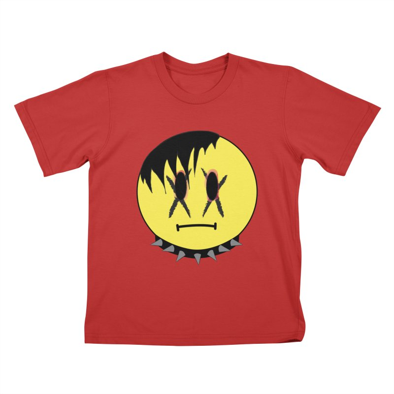 Goth Kid Kids T-Shirt by It's Me Stevie Leigh