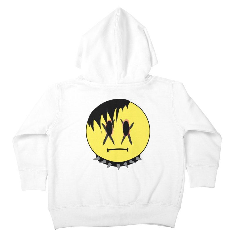 Goth Kid Kids Toddler Zip-Up Hoody by It's Me Stevie Leigh
