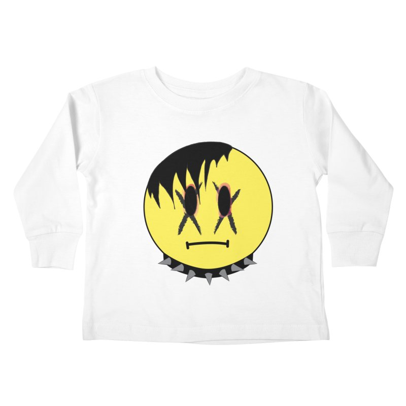 Goth Kid Kids Toddler Longsleeve T-Shirt by It's Me Stevie Leigh