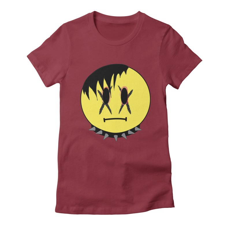 Goth Kid Women's Fitted T-Shirt by It's Me Stevie Leigh