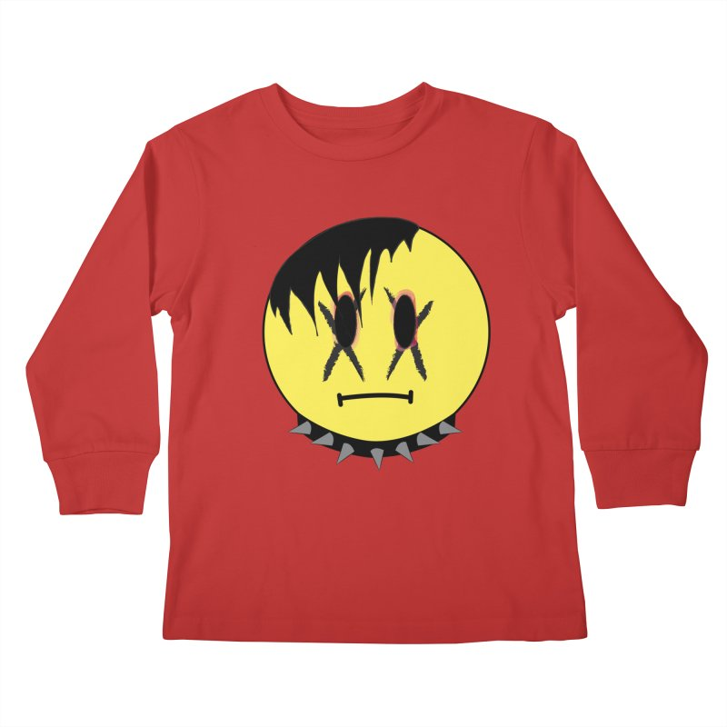 Goth Kid Kids Longsleeve T-Shirt by It's Me Stevie Leigh