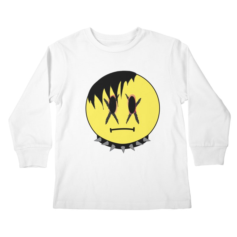 Goth Kid Kids Longsleeve T-Shirt by It's Me Stevie Leigh