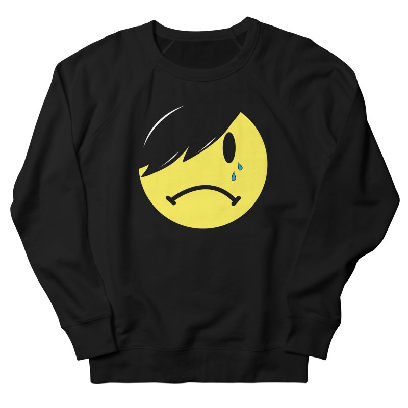 Emo Kid in Black Men's French Terry Sweatshirt by It's Me Stevie Leigh