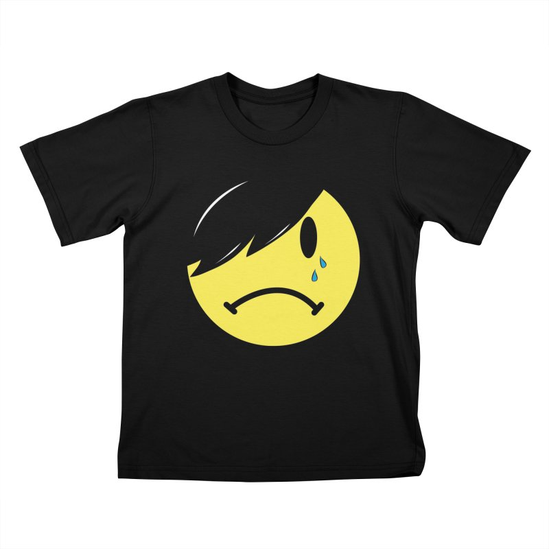 Emo Kid in Black Kids T-Shirt by It's Me Stevie Leigh