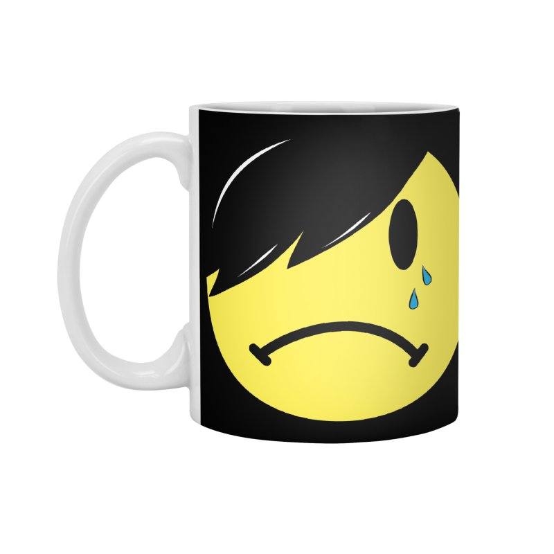 Emo Kid in Black Accessories Standard Mug by It's Me Stevie Leigh