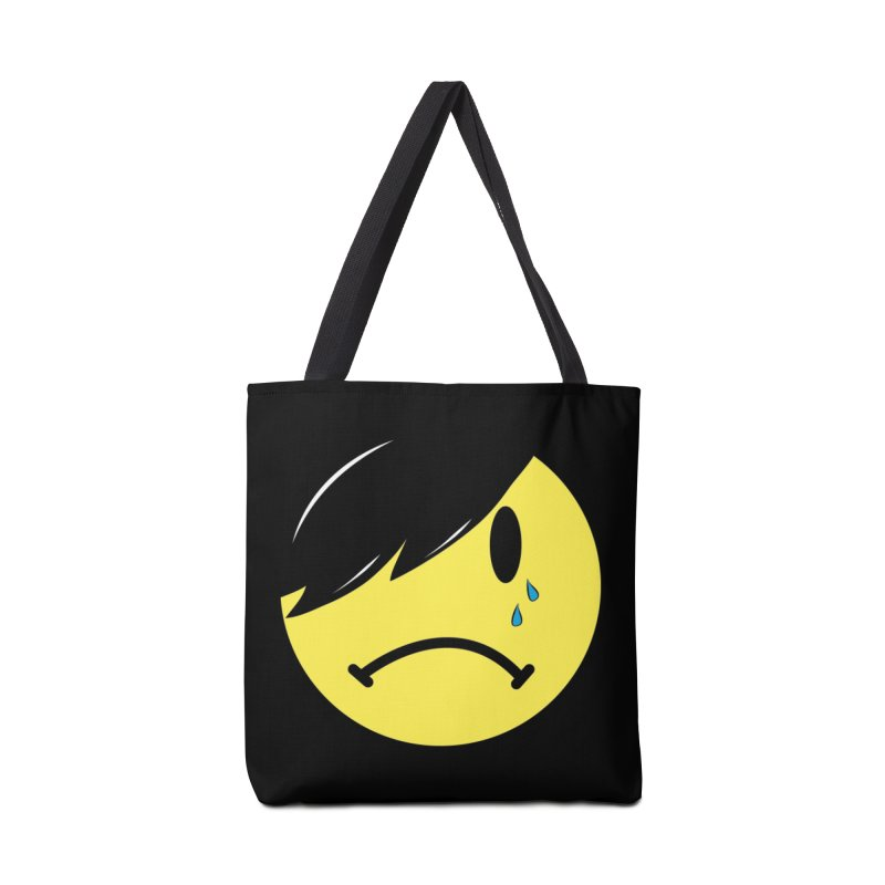 Emo Kid in Black Accessories Tote Bag Bag by It's Me Stevie Leigh