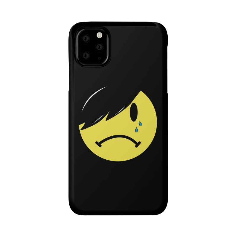 Emo Kid in Black Accessories Phone Case by It's Me Stevie Leigh