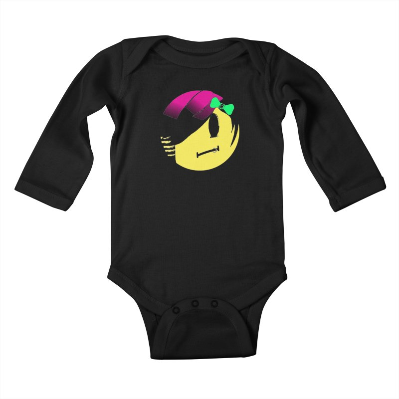 Scene Queen in Black Kids Baby Longsleeve Bodysuit by It's Me Stevie Leigh