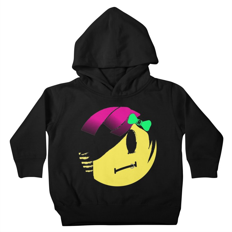Scene Queen in Black Kids Toddler Pullover Hoody by It's Me Stevie Leigh