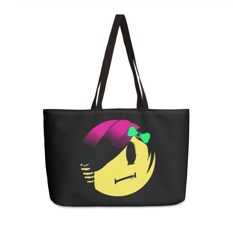 Scene Queen in Black Accessories Weekender Bag Bag by It's Me Stevie Leigh