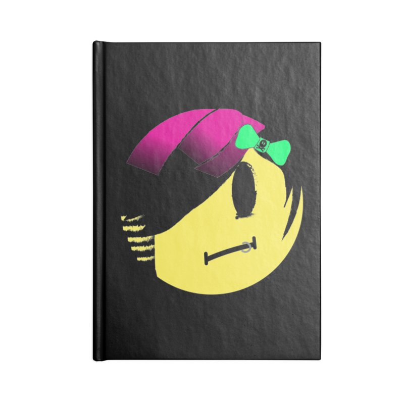 Scene Queen in Black Accessories Notebook by It's Me Stevie Leigh