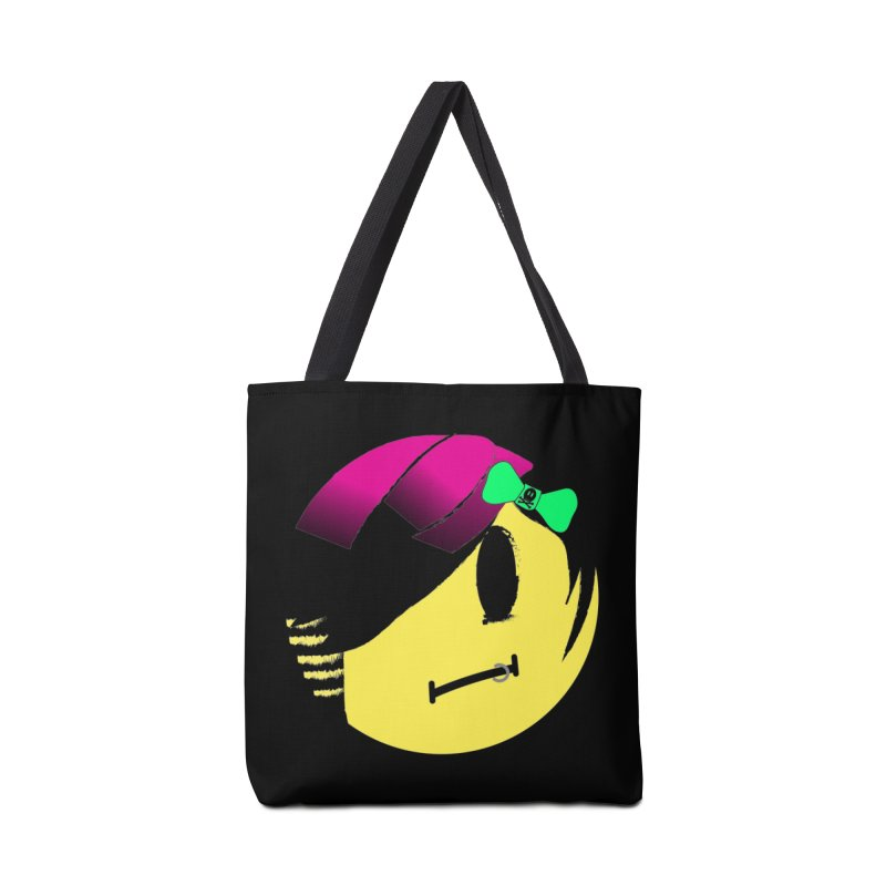 Scene Queen in Black Accessories Tote Bag Bag by It's Me Stevie Leigh