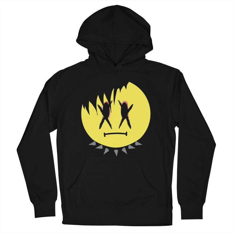 Goth Kid in Black Men's French Terry Pullover Hoody by It's Me Stevie Leigh