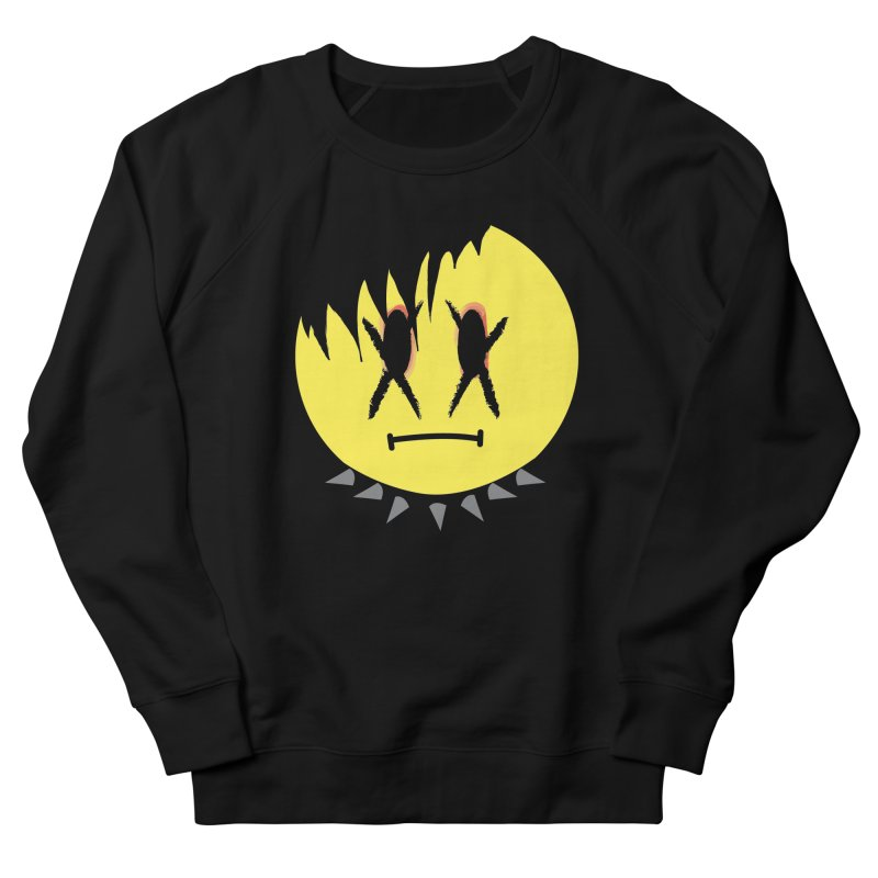 Goth Kid in Black Men's French Terry Sweatshirt by It's Me Stevie Leigh