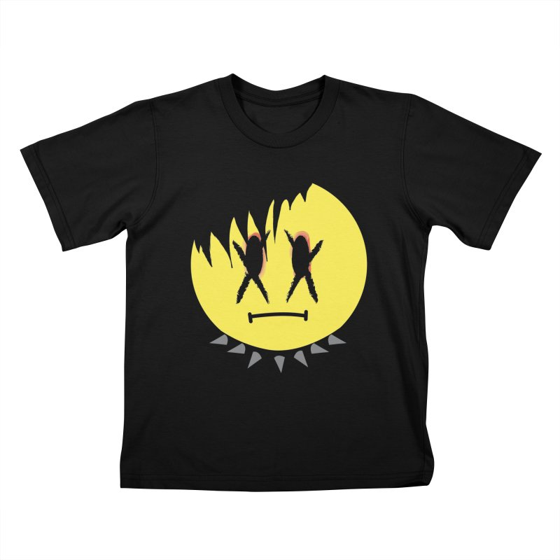 Goth Kid in Black Kids T-Shirt by It's Me Stevie Leigh