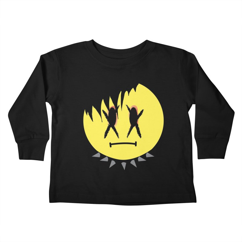 Goth Kid in Black Kids Toddler Longsleeve T-Shirt by It's Me Stevie Leigh