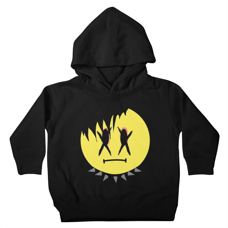 Goth Kid in Black Kids Toddler Pullover Hoody by It's Me Stevie Leigh