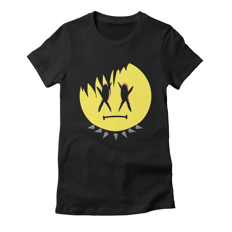 Goth Kid in Black Women's Fitted T-Shirt by It's Me Stevie Leigh