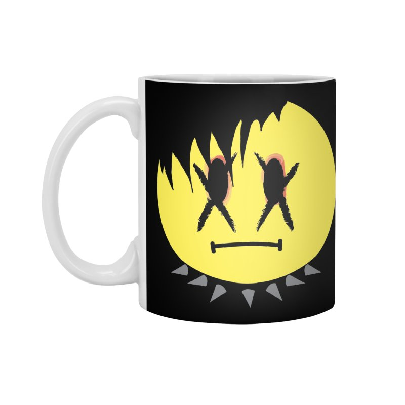 Goth Kid in Black Accessories Standard Mug by It's Me Stevie Leigh