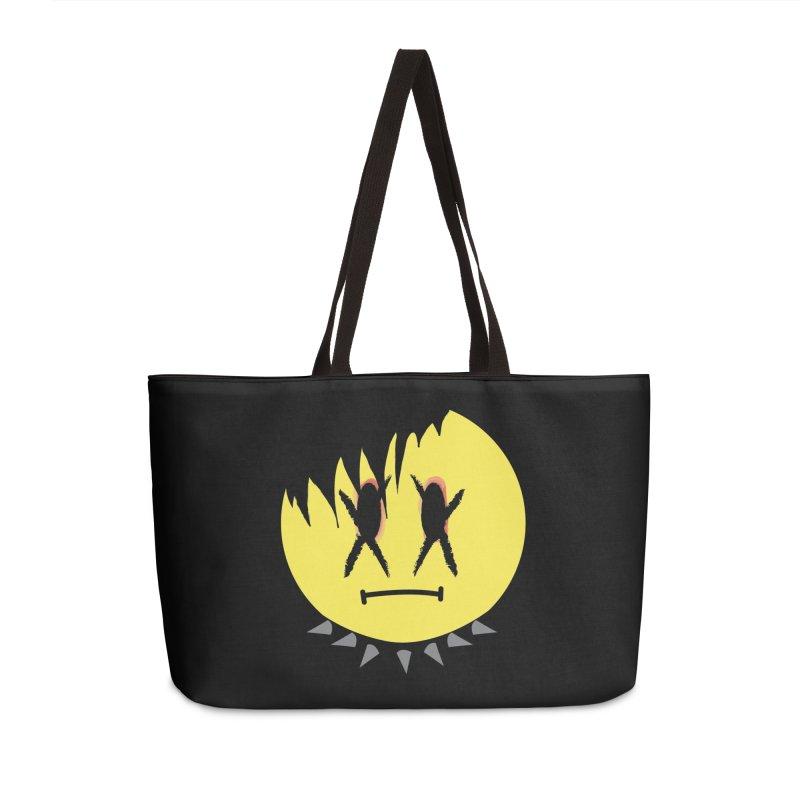 Goth Kid in Black Accessories Weekender Bag Bag by It's Me Stevie Leigh