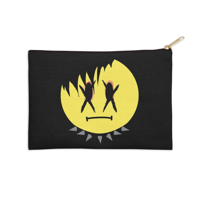 Goth Kid in Black Accessories Zip Pouch by It's Me Stevie Leigh