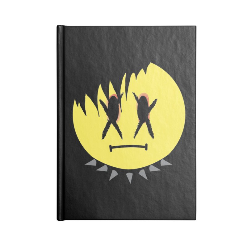 Goth Kid in Black Accessories Notebook by It's Me Stevie Leigh