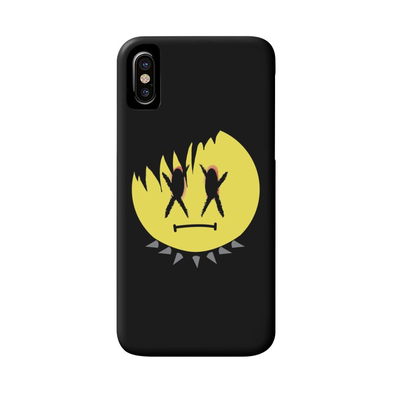 Goth Kid in Black Accessories Phone Case by It's Me Stevie Leigh