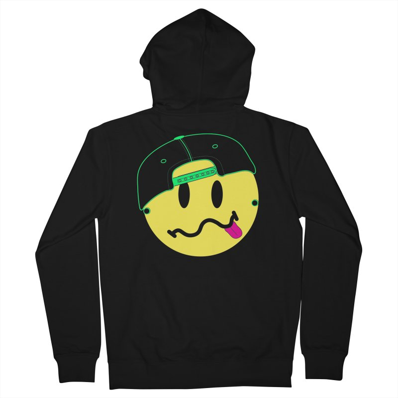Pop Punk Kid in Black Men's French Terry Zip-Up Hoody by It's Me Stevie Leigh