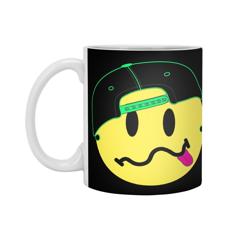 Pop Punk Kid in Black Accessories Standard Mug by It's Me Stevie Leigh