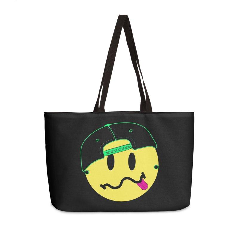Pop Punk Kid in Black Accessories Weekender Bag Bag by It's Me Stevie Leigh