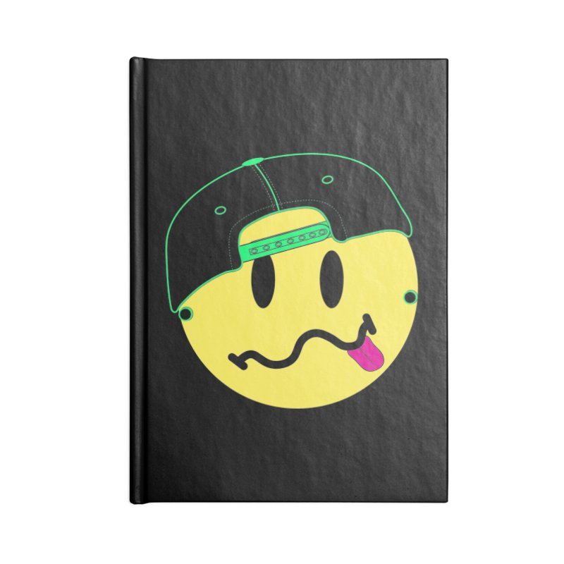 Pop Punk Kid in Black Accessories Notebook by It's Me Stevie Leigh