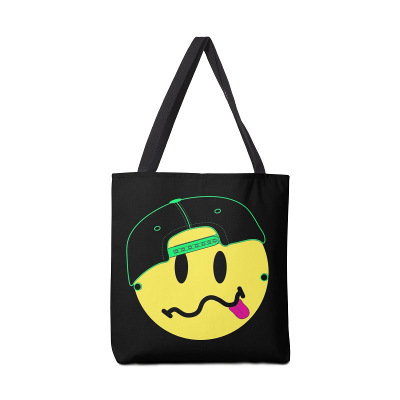 Pop Punk Kid in Black Accessories Tote Bag Bag by It's Me Stevie Leigh