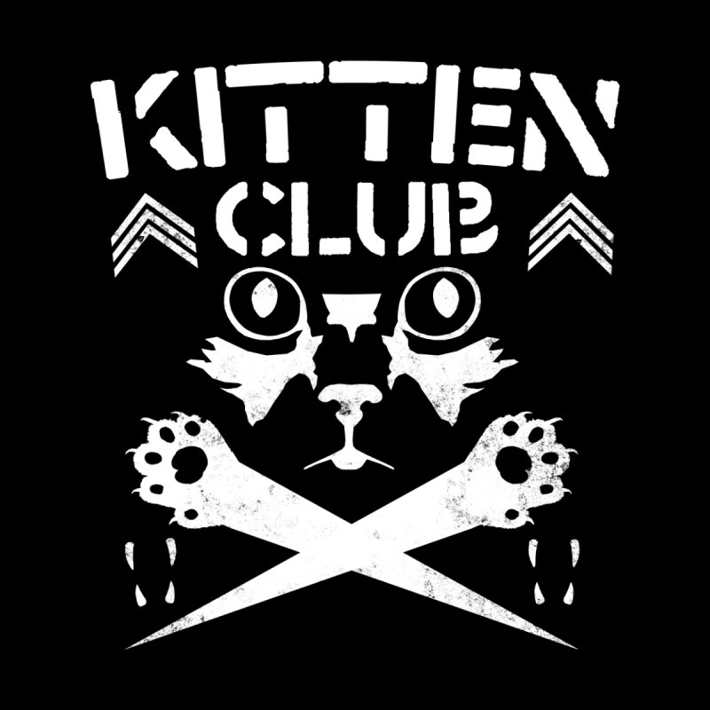 Kitten Club Accessories Zip Pouch by Stevie Richards Artist Shop