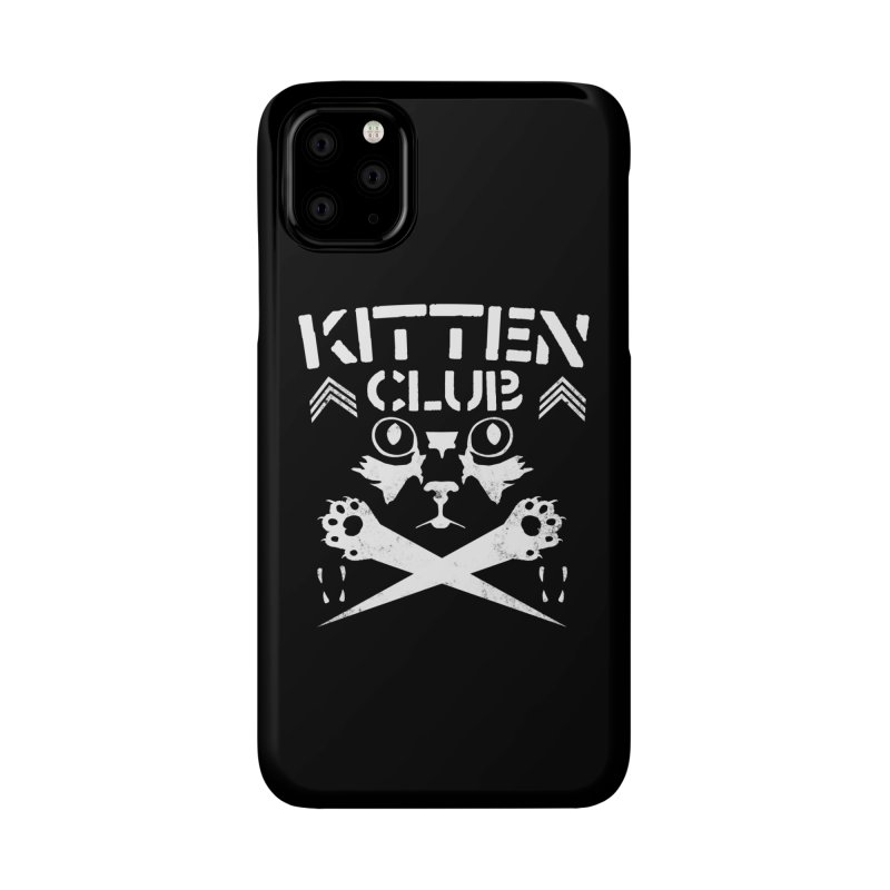 Kitten Club Accessories Phone Case by Stevie Richards Artist Shop