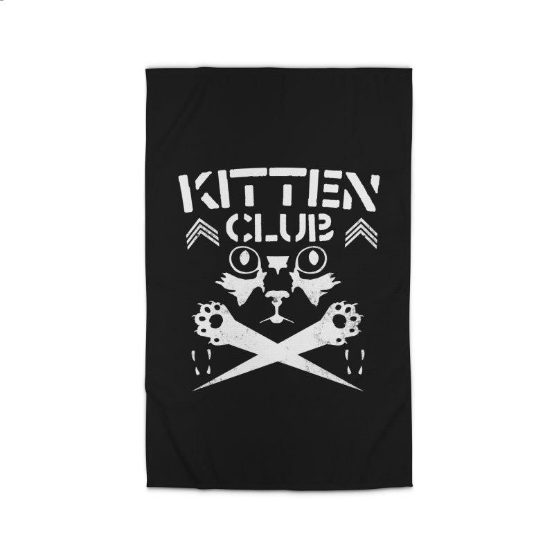 Kitten Club Home Rug by Stevie Richards Artist Shop