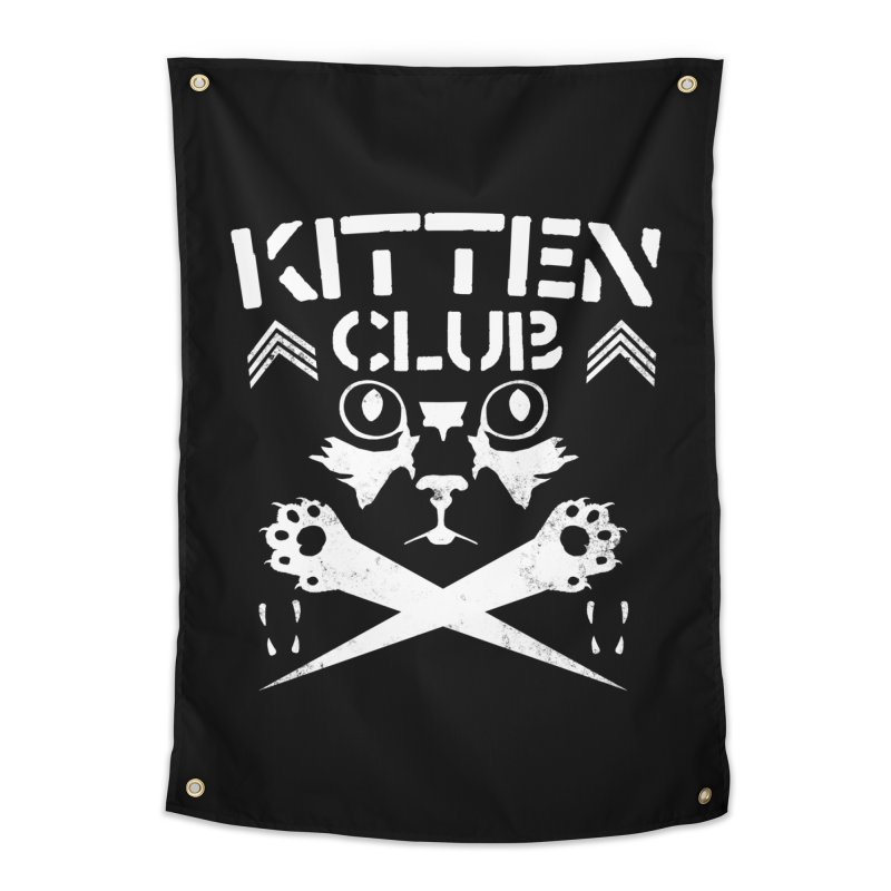 Kitten Club Home Tapestry by Stevie Richards Artist Shop