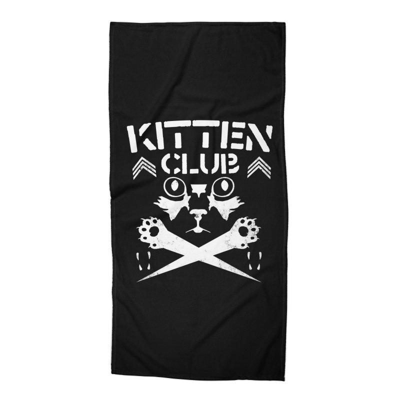 Kitten Club Accessories Beach Towel by Stevie Richards Artist Shop