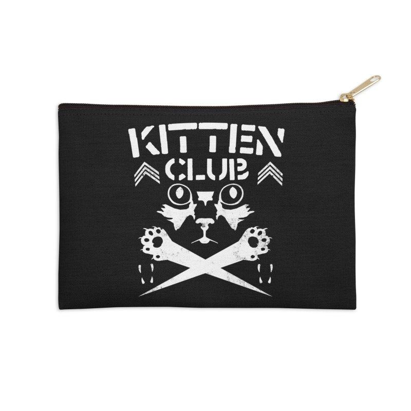 Kitten Club Accessories Zip Pouch by Stevie Richards Artist Shop