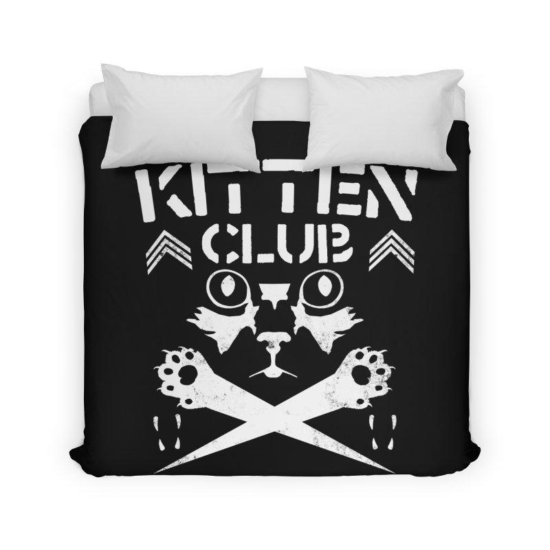 Kitten Club Home Duvet by Stevie Richards Artist Shop