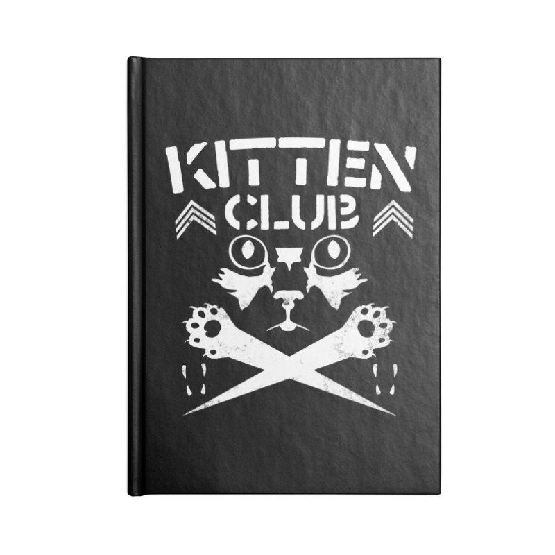 Kitten Club Accessories Lined Journal Notebook by Stevie Richards Artist Shop