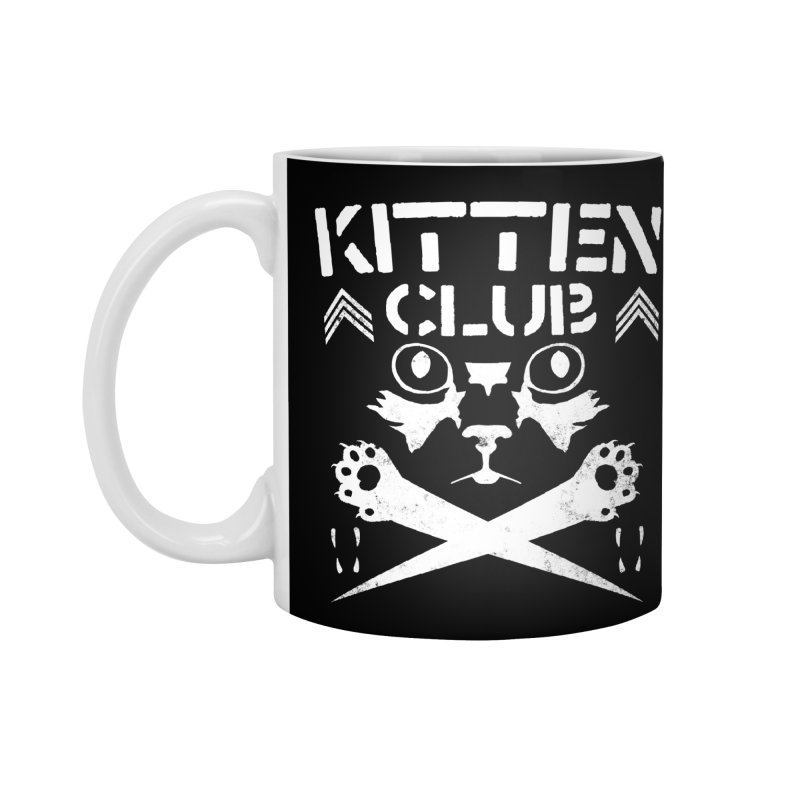 Kitten Club Accessories Mug by Stevie Richards Artist Shop