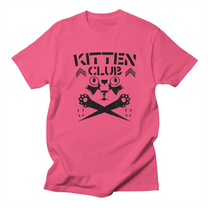 Kitten Club Black Men's T-Shirt by Stevie Richards Artist Shop
