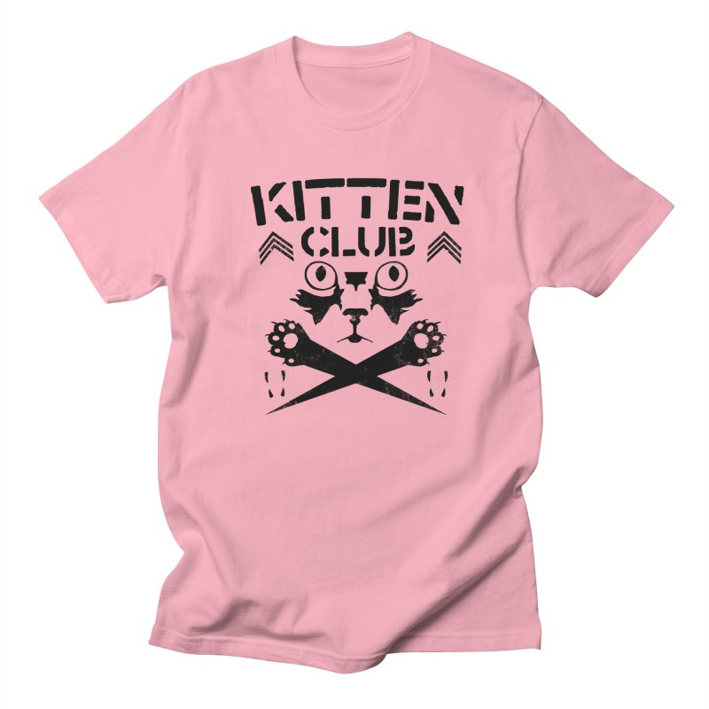Kitten Club Black Women's Unisex T-Shirt by Stevie Richards Artist Shop