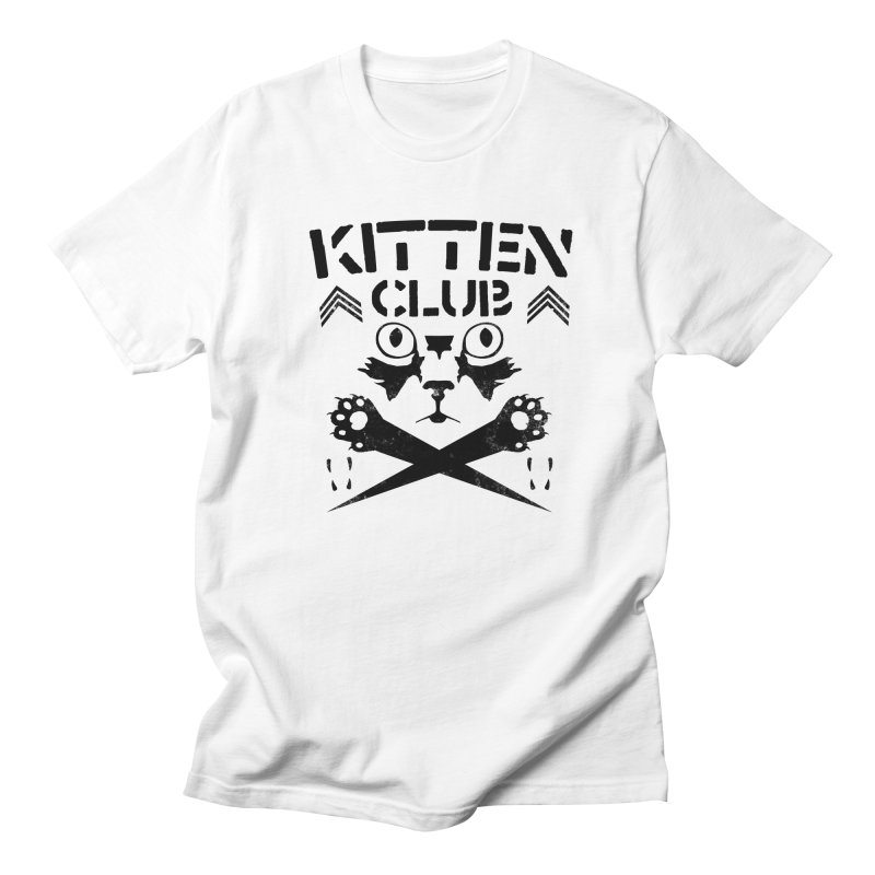 Kitten Club Black Women's Unisex T-Shirt by Stevie Richards Artist Shop