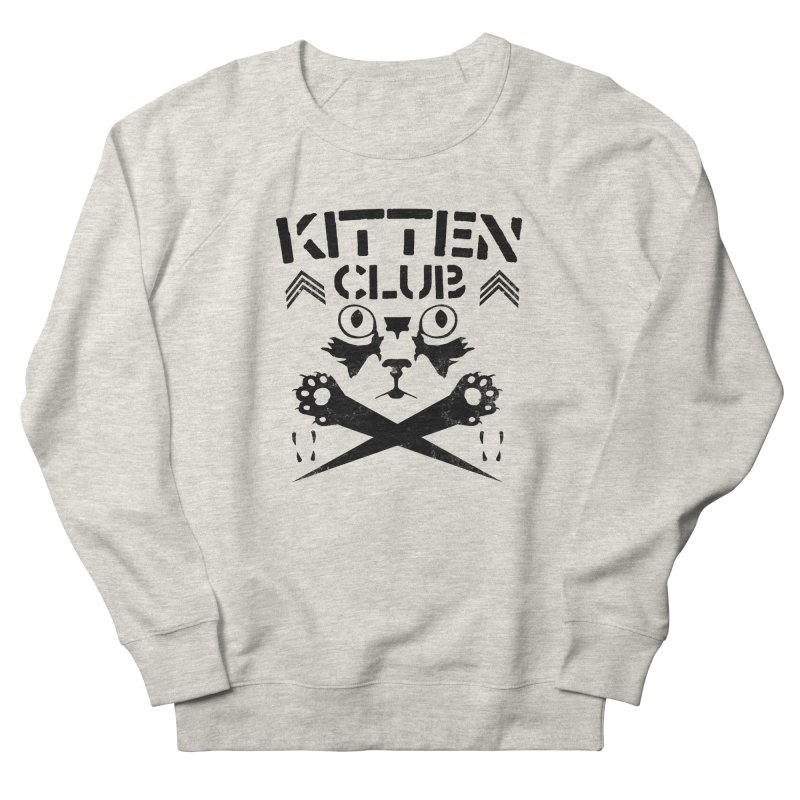 Kitten Club Black Women's Sweatshirt by Stevie Richards Artist Shop