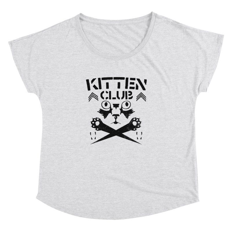 Kitten Club Black Women's Dolman by Stevie Richards Artist Shop