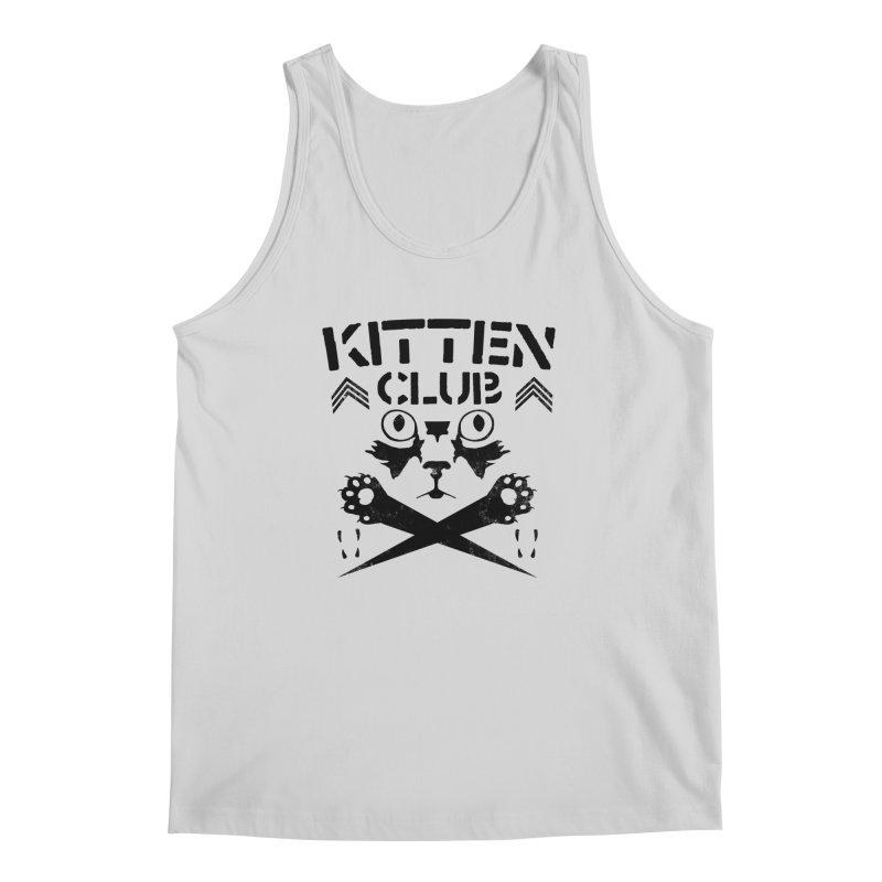Kitten Club Black Men's Tank by Stevie Richards Artist Shop